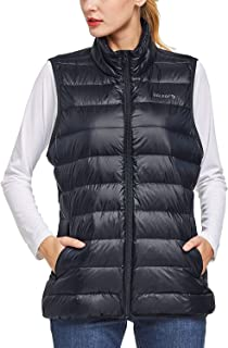 BALEAF Women's Lightweight Packable Hooded Down Jacket Hoodies Winter Insulated Coat
