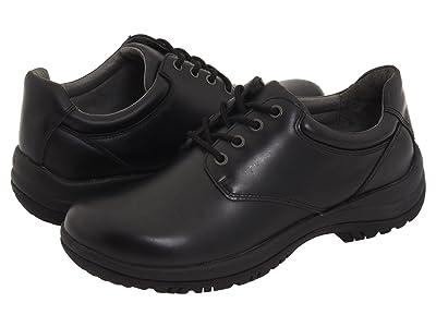 Dansko Walker (Black Smooth Leather) Men