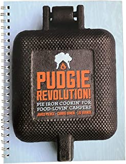 Rome Industries 2009 Pudgie Revolution Spiral Bound Pie Iron Cookbook, Color