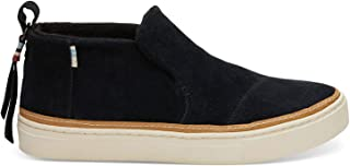 TOMS Black Suede Water-Resistant Women Paxton Slipon 10012401