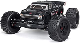 ARRMA RC Truck 1/8 Outcast 6S BLX 4WD Extreme Bash Stunt Truck RTR (Battery and Charger Not Included), Black, ARA8710