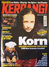 Kerrang! Issue 794 March 25, 2000 (Korn cover)
