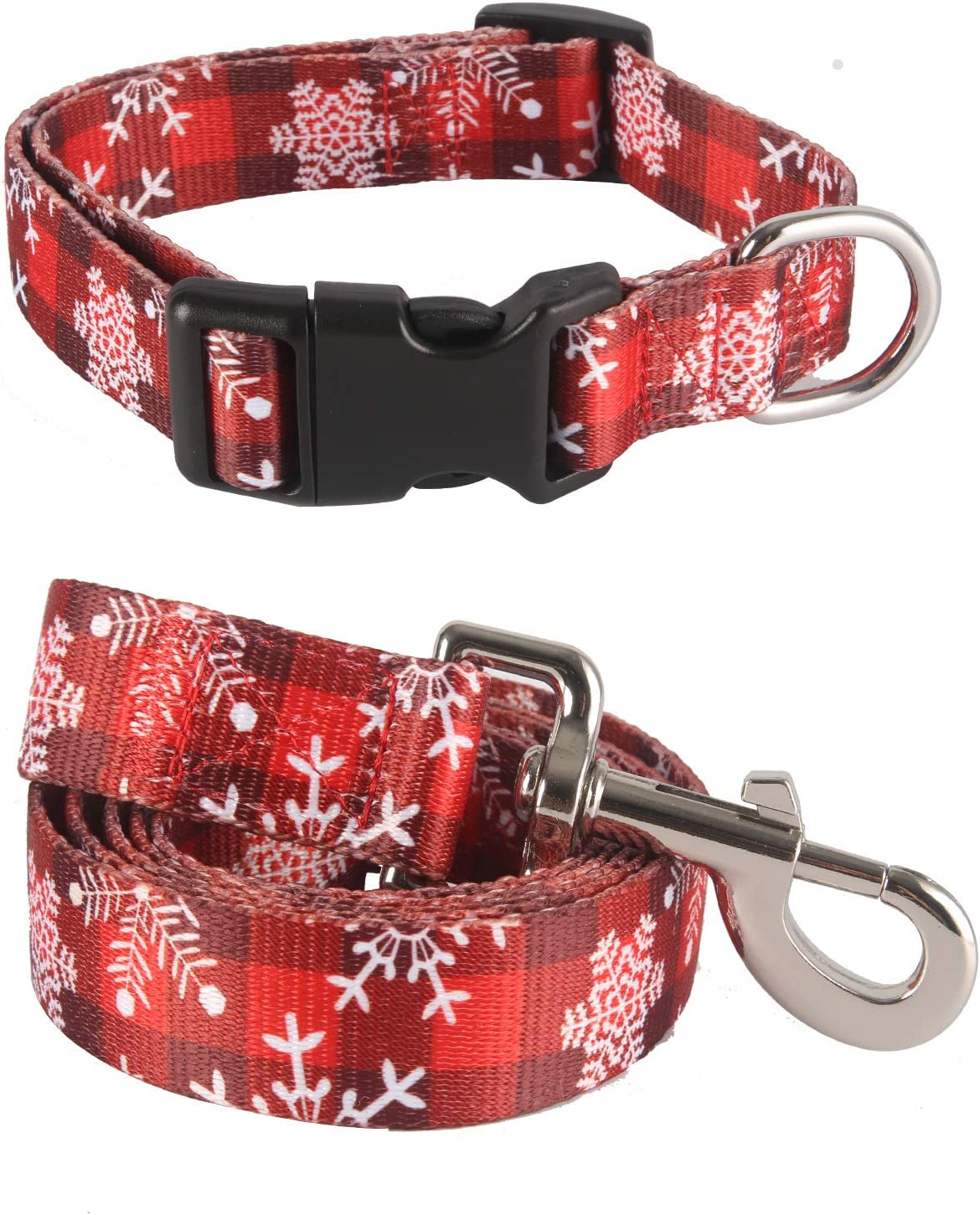Coomour Dog Christmas Industry No. Super popular specialty store 1 Collars with Snowflake Cute Leash Pet Funn