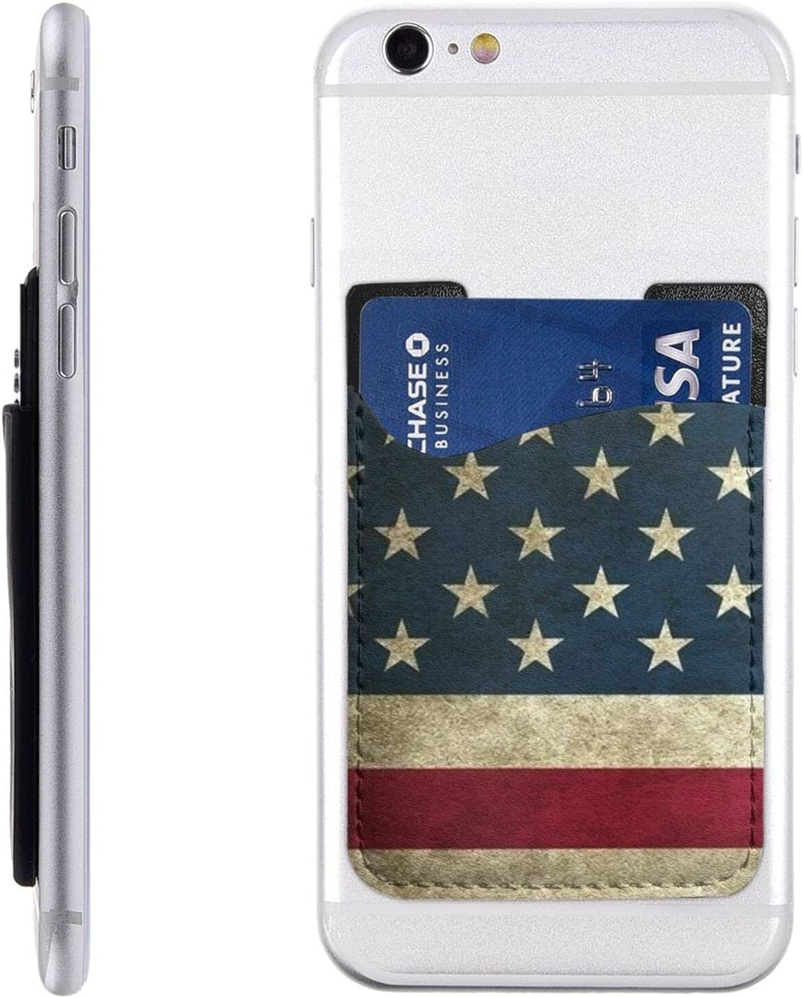American Flag Phone Miami Mall Card Holder Wallet Cell wholesale On Stick