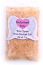 Very Small 1 oz net wt. Reiki Charged Pink Himalayan Halite Salt Bag for Home Cleansing Smudging Purification