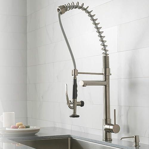 Commercial Kitchen Faucets Amazon Com