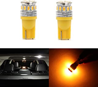 Super Bright T10 LED Bulbs 158 161 168 168A 168NA 175 194 2857 2827 Car Dome Map Light Glove Box 3014 18SMD Chipsets License Plate Corner Side Light 2pcs