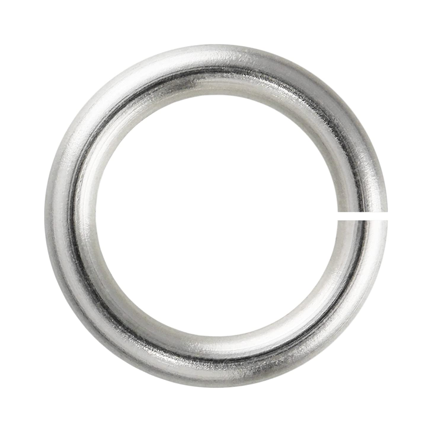 Weave Got Maille 18-Gauge 3mm Silver Enameled Copper Jump Rings - 1 Ounce