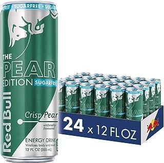Red Bull Energy Drink, Sugar Free Crisp Pear, Sugarfree Pear Edition, 12 Fl Oz (24 Count)
