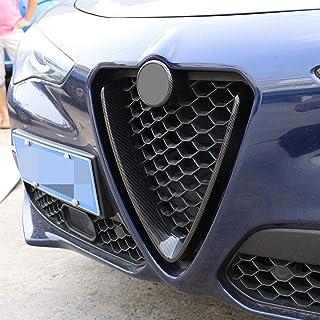 ABS style fibre de carbone pour calandre avant Stelvio Racing