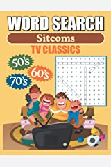 Word Search Sitcoms TV Classics: Large Print Word Find Puzzles Paperback