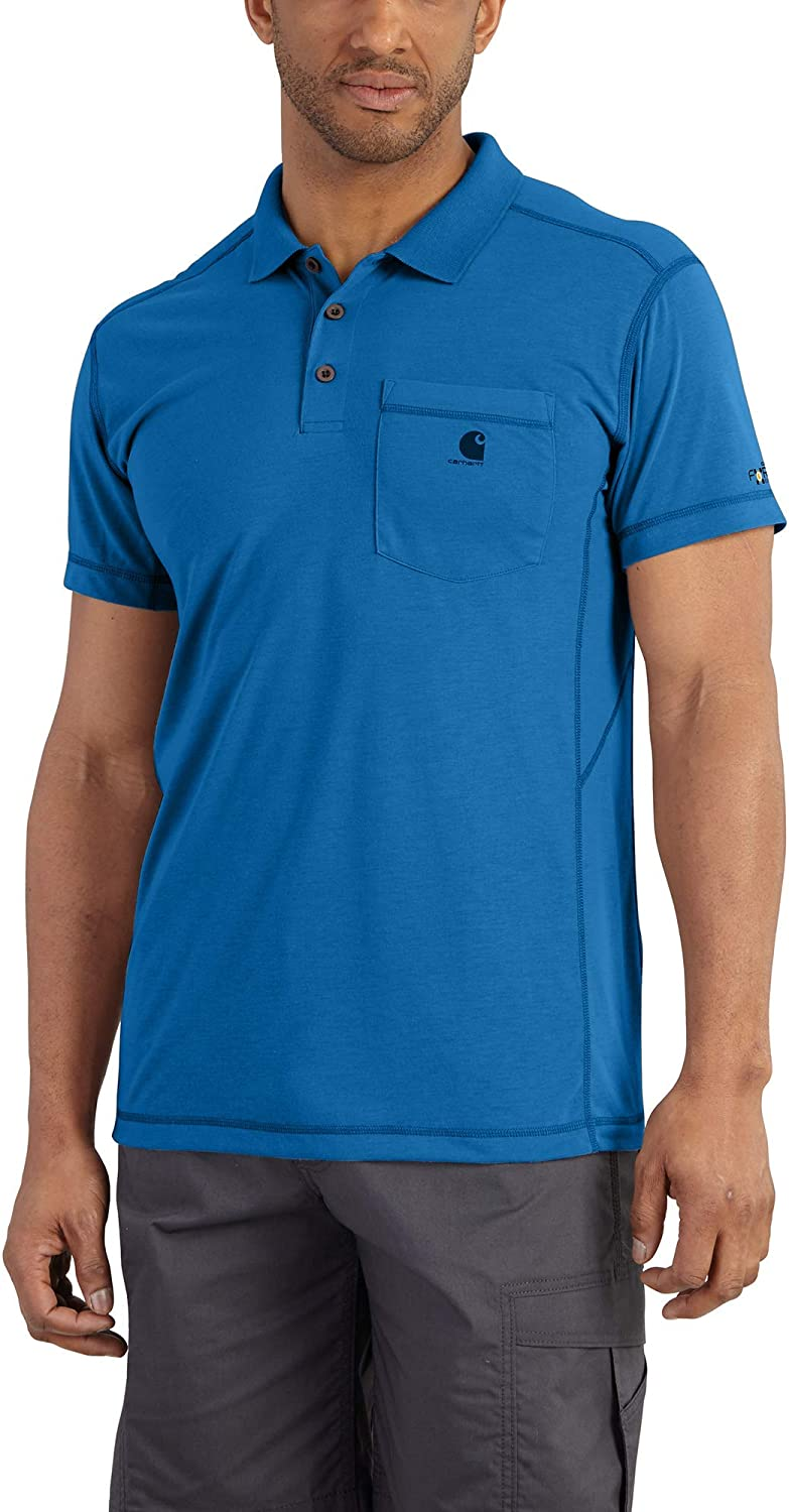 Carhartt Men's Force Extremes Pocket Polo