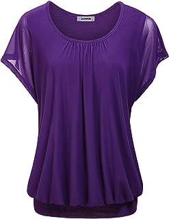 9f58087dfb Amazon.com  Retro - Blouses   Button-Down Shirts   Tops   Tees ...