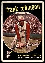 Baseball MLB 1959 Topps #435 Frank Robinson VG Very Good Reds