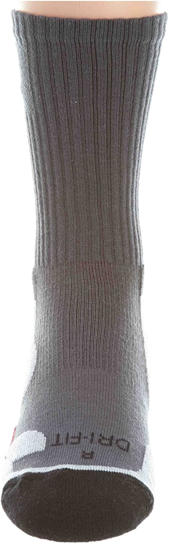[441342-021] AIR Jordan Jordan Gameday Crew Sock Adults Unisex Apparel Blck/Grey/RED