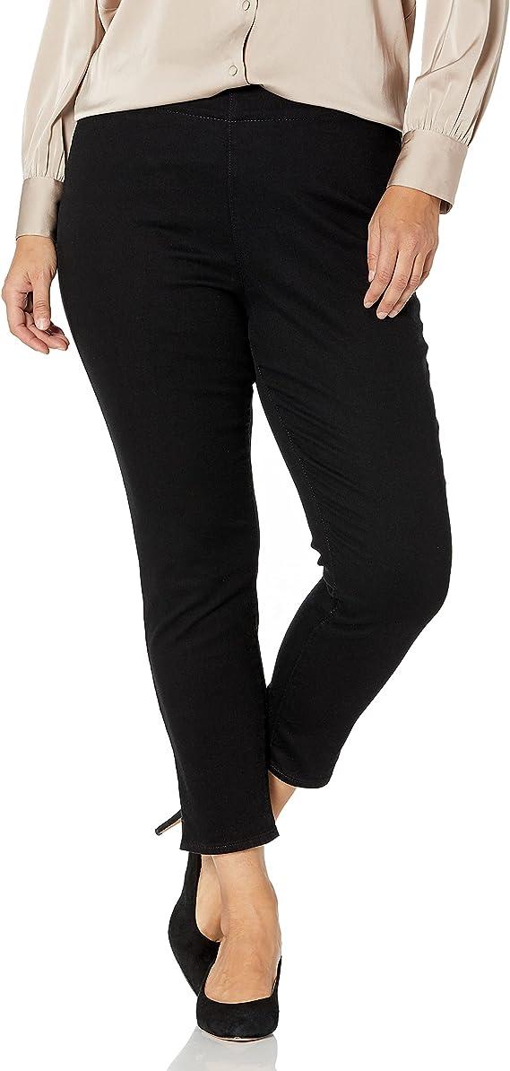 NYDJ Women's Plus Size Pull On Skinny Jeans
