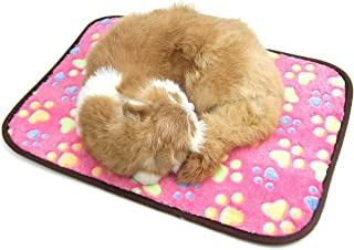 Mumoo Bear Pet Reversible Sleeping and Cooling Mat, Pink