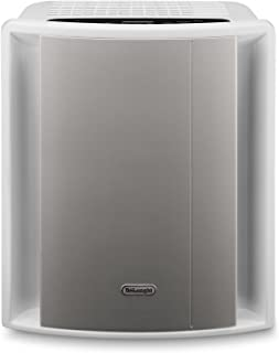 DeLonghi 0 AC230 Energy Star Air Purifier with Ionizer, 220 Square Feet, White/Gray