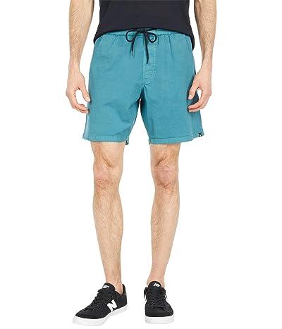 Volcom Steppen EW Shorts 17 (Hydro Blue) Men