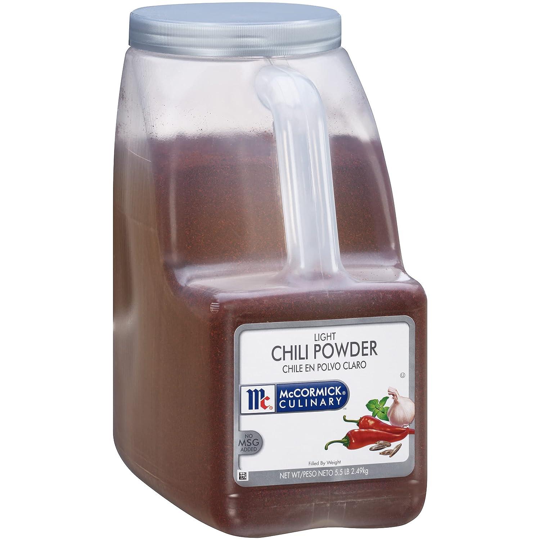 McCormick Culinary Finally popular brand Light Chili 5.5 Powder Max 67% OFF lbs