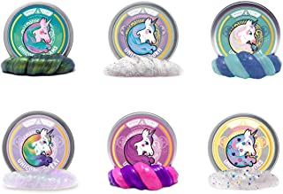 Mythical Slyme Unicorn Tears - 100% Authentic Unicorn Bits - Crystal Clear Putty and Slime (Multipacks, Mini Tin Sampler)