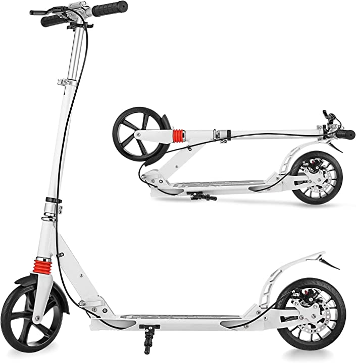 Monopattino adulti monopattino freestyle stunt scooter kick scooter pieghevole e regolabile in altezza B08DFMMRDQ