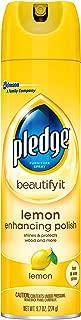 Pledge Furniture Enhansing Spray, Lemon, 9.7 OZ
