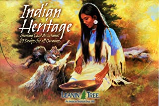 Indian Heritage Value Pack Greeting Card Assortment of 20 Cards with 22 Envelopes