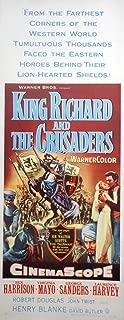 KING RICHARD AND THE CRUSADERS MOVIE POSTER Rex Harrison Virginia Mayo 1954