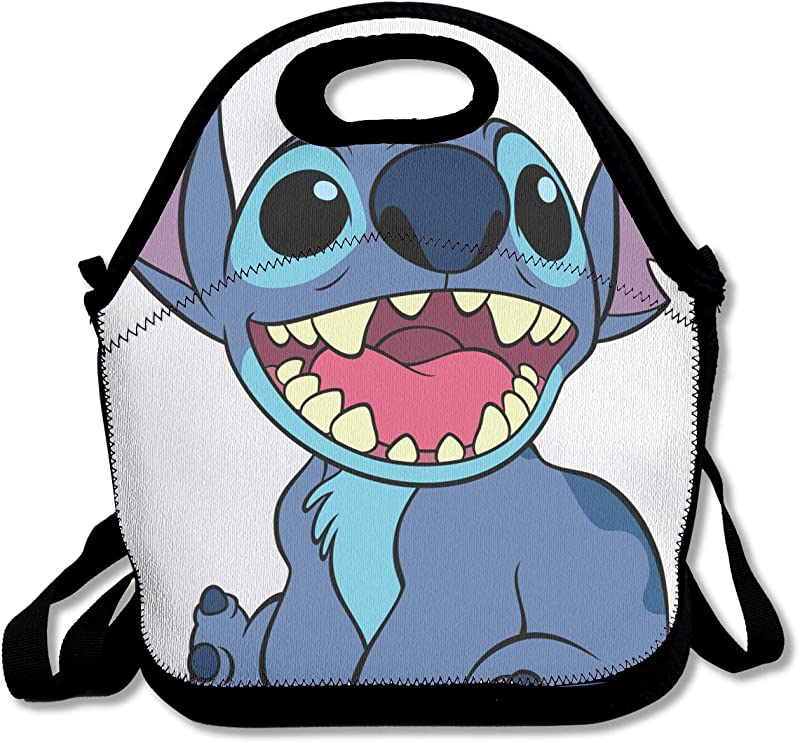 LIUYAN Custom Lunch Containers Lilo Stitch Cooler Bag For Work School Picnic
