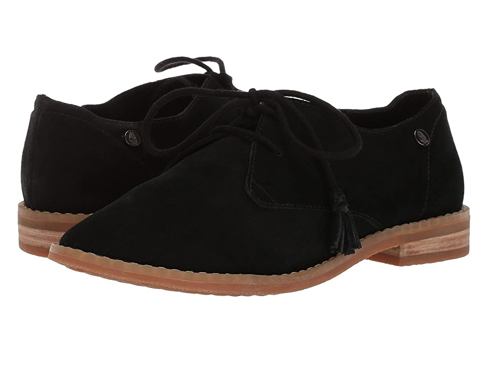 Hush Puppies Chardon Oxford (Black Suede) Women