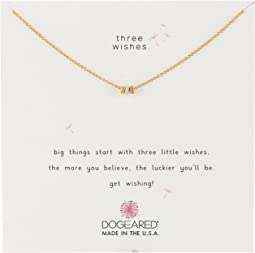 Three Wishes, 3 Stardust Beads Necklace
