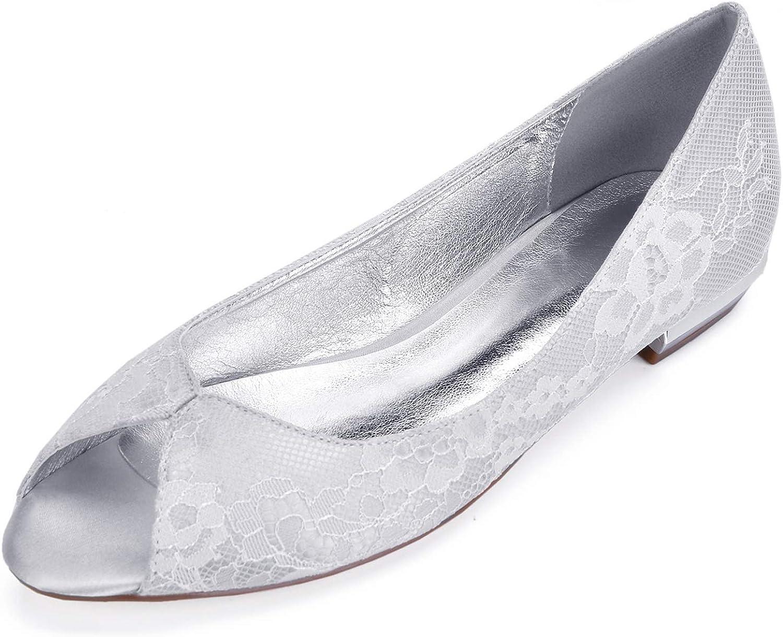 Elobaby Frauen Frühling Kitten Dyeable Hochzeit Schuhe Chunky Fall Peep Toe Satin Silk Fashion Handmade   1,5 cm  | Online Outlet Store