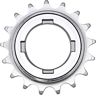 "CyclingDeal 16 17 or 18 Teeth Single Speed Bike Bicycle Compatible with Shimano Type Freewheel Cassette 1/2"" x1/8"" or 1/2""..."