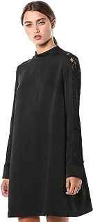 Women's Lace Paneled Dress