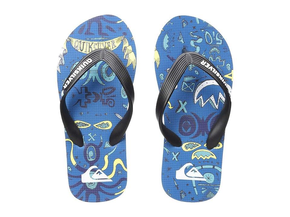 Quiksilver Kids Molokai Mystery Bus (Toddler/Little Kid/Big Kid) (Black/Blue/Blue) Boys Shoes