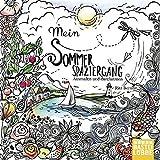 Mein Sommerspaziergang: Ausmalen und durchatmen (Die Welt wird bunt, Band 2) - Rita Berman