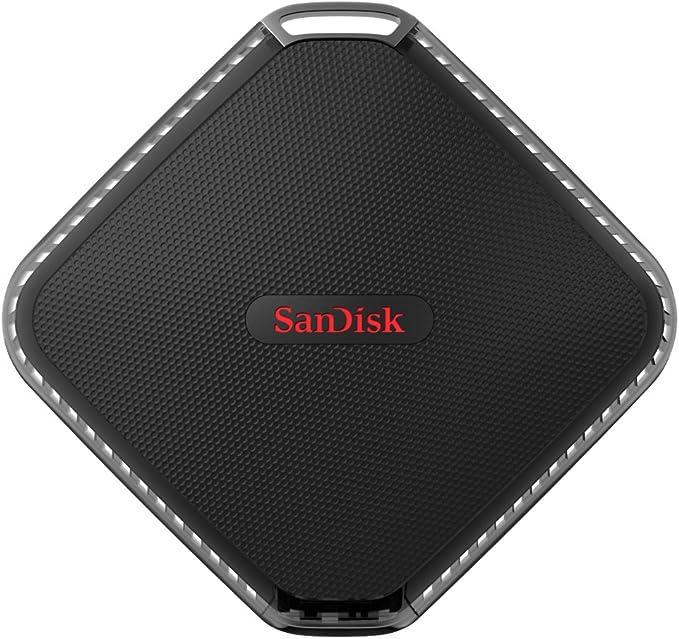 TALLA 1 TB. SSD portátil SanDisk Extreme 500 de 1 TB y hasta 440 MB/s de Velocidad de Lectura
