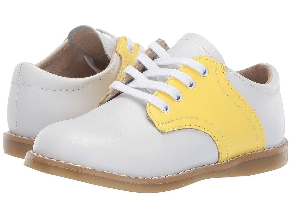 FootMates Cheer 3 (Toddler/Little Kid) (White/Sunbeam) Girl