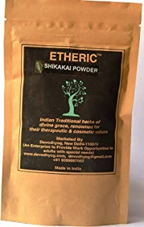 Etheric Shikakai Powder - Herbal Shampoo
