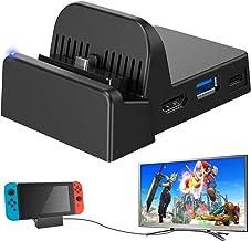 Ponkor Nintendo Switch Dock Switch Charging Dock 4K HDMI TV Adapter Switch Docking..
