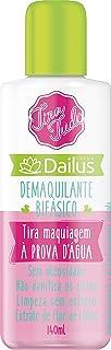 Demaquilante Bifasico Tira Tudo 01, Dailus, Incolor, 140ml