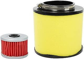 BETTERCLOUD Air Filter & Oil Filter Fit for Honda Rancher 350 420 TRX350 Foreman 400 450 Fourtrax 300