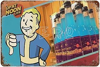Fallo-ut Zap That Thirst Nuka Cola Quantum Atomic Bomb Drink Q Art Tin Sign 30*40cm vintage home accessories displate tin ...