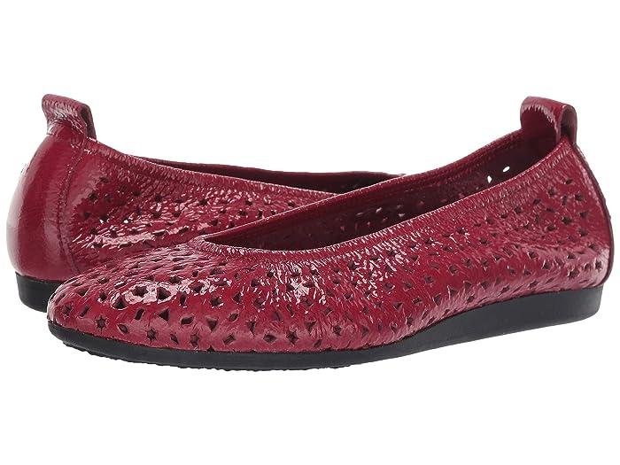 Arche  Lilly (Massai/Grenat) Womens Flat Shoes