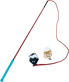 Outward Hound ZipZoom Beginner Dog Agility Training Obstacle Course & Tail Teaser Lure Wand