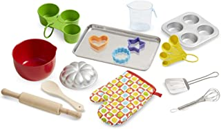 Melissa & Doug Baking Play Set (20 pcs) - Play Kitchen Accessories