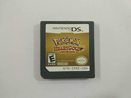 Pokemon Heart Gold Version Game Card for NDS 3DS DSI DS