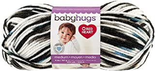 Red Heart Baby Hugs Med PRT Outerspace