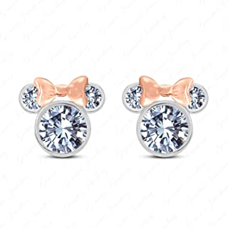 Best white gold minnie mouse earrings Reviews